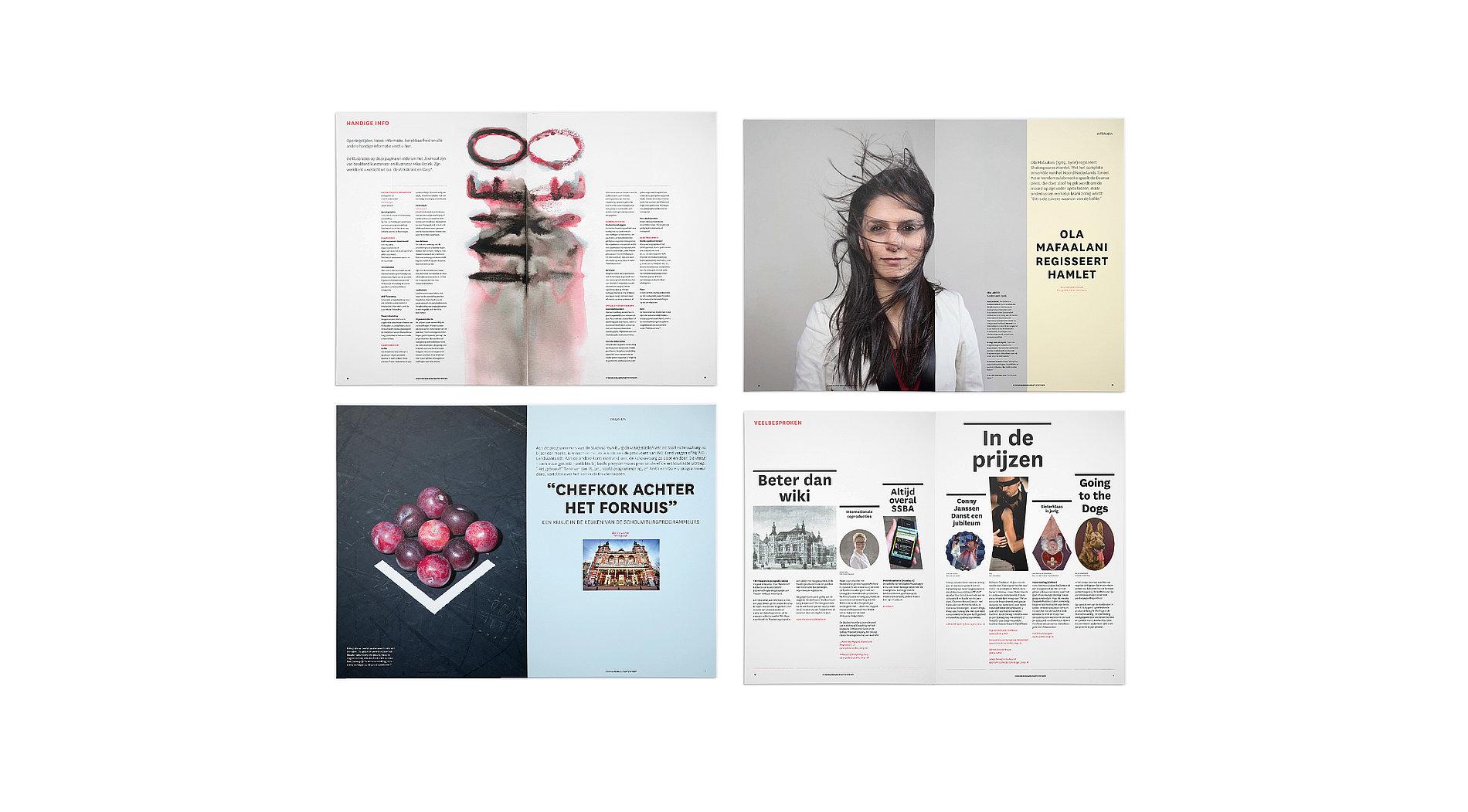 Stadsschouwburg Journaal   Red Dot Design Award