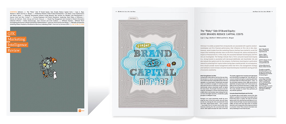 GfK Marketing  Intelligence Review   Red Dot Design Award