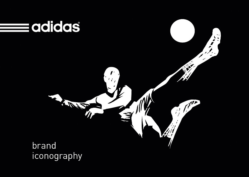 adidas  brand iconography | Red Dot Design Award