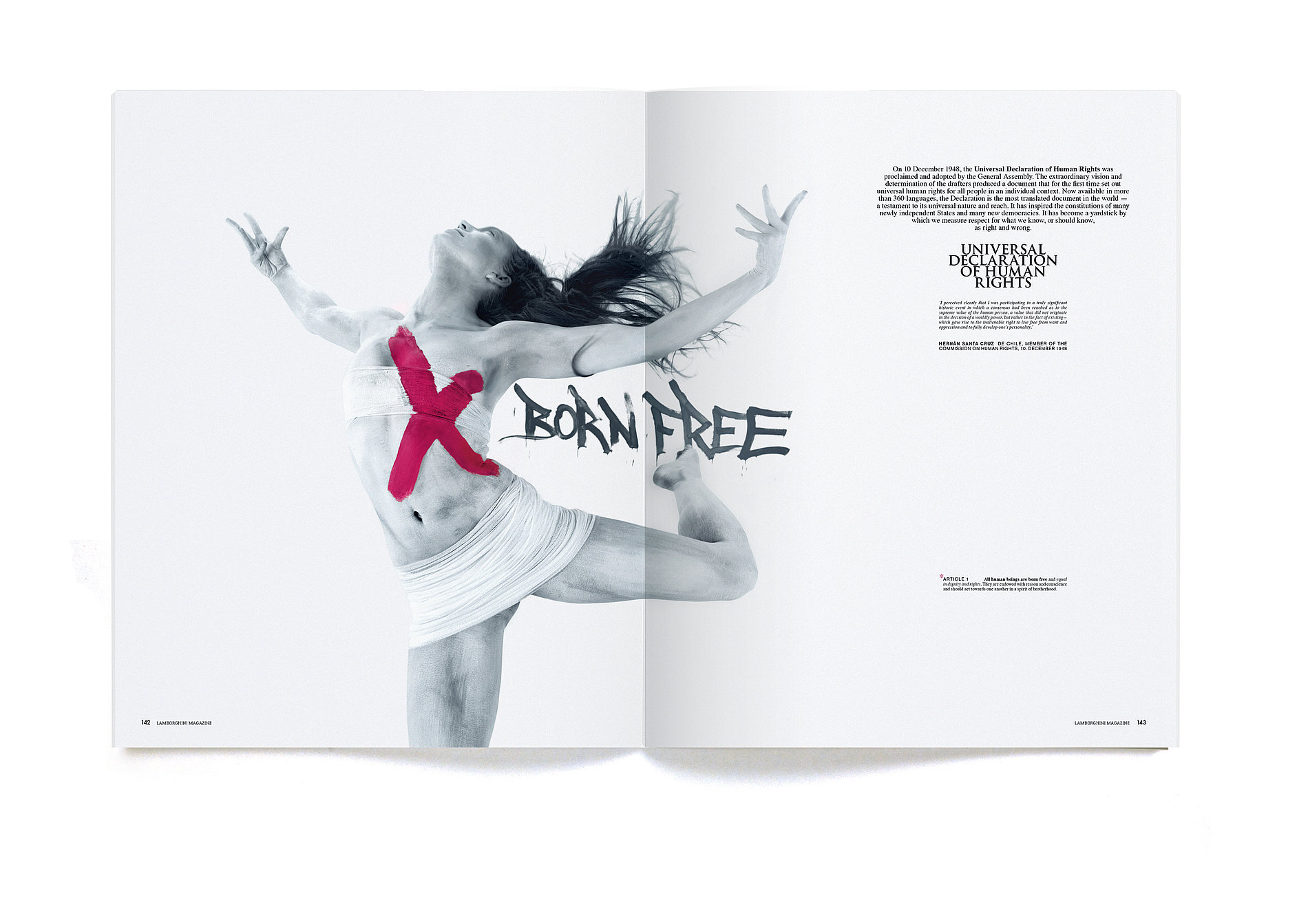 Lamborghini  Magazine #10 | Red Dot Design Award