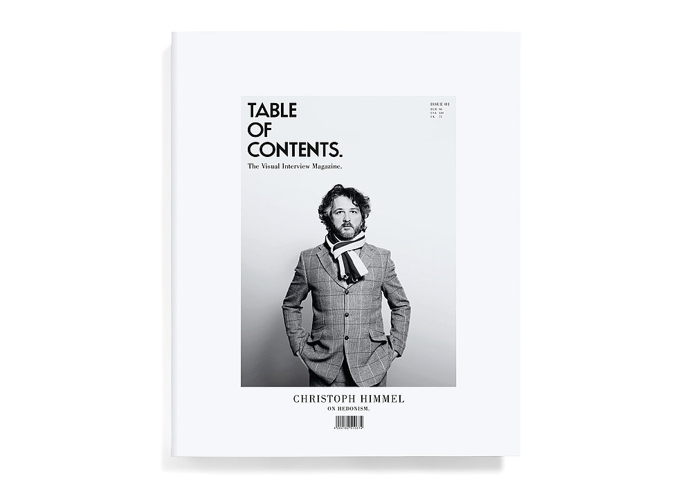 Table of Contents | Red Dot Design Award
