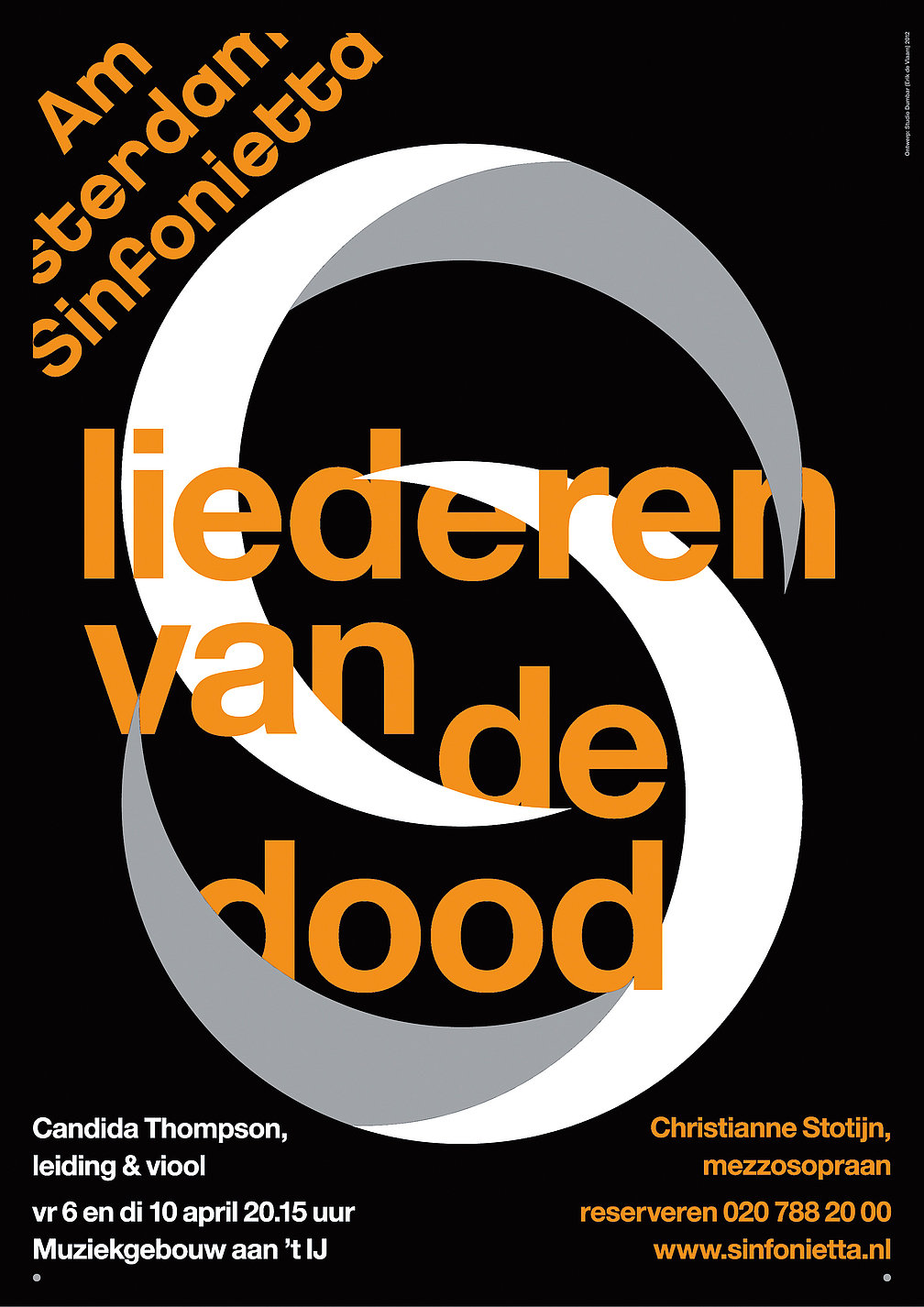 Amsterdam  Sinfonietta   Red Dot Design Award