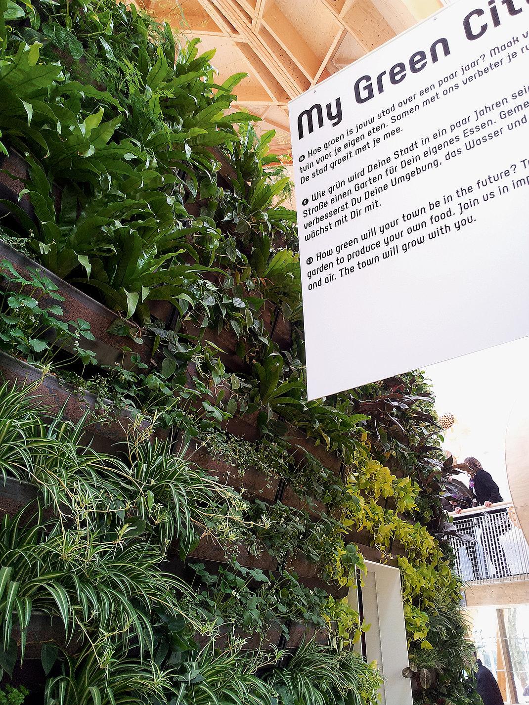 My Green World – Dutch Pavilion  Floriade 2012 | Red Dot Design Award