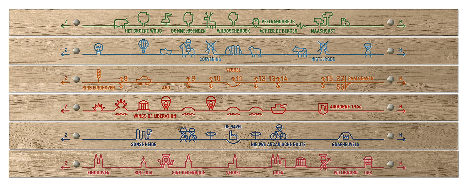 A50 Motorway Information Graphic | Red Dot Design Award
