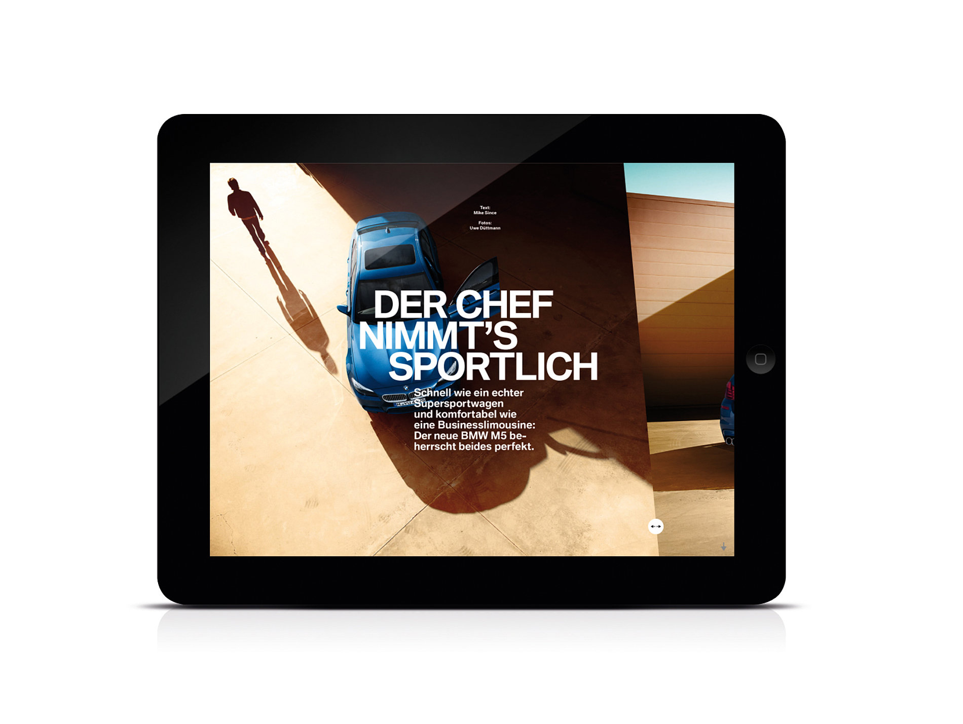 BMW Magazin  iPad App | Red Dot Design Award