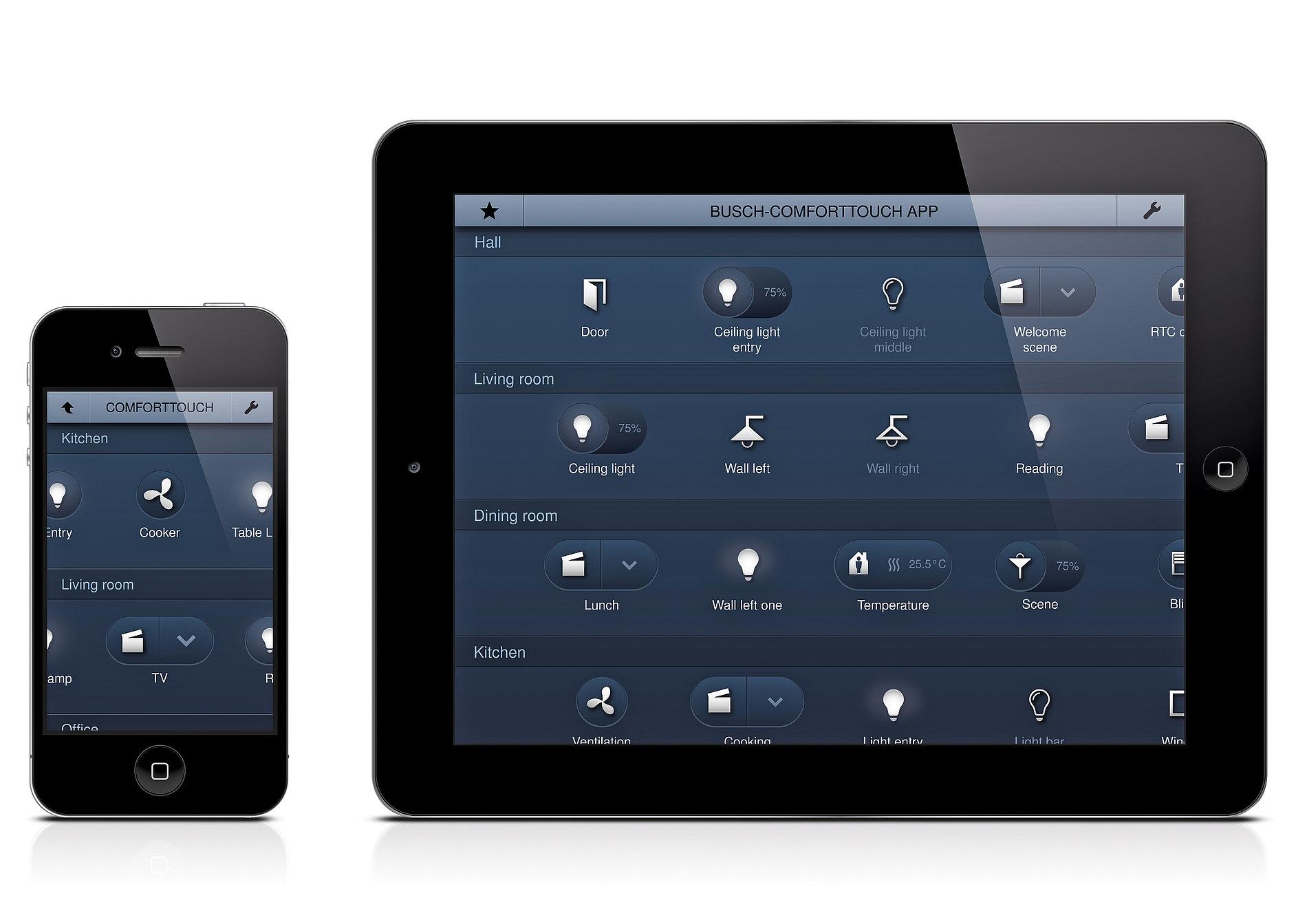 Busch- ComfortTouch App | Red Dot Design Award