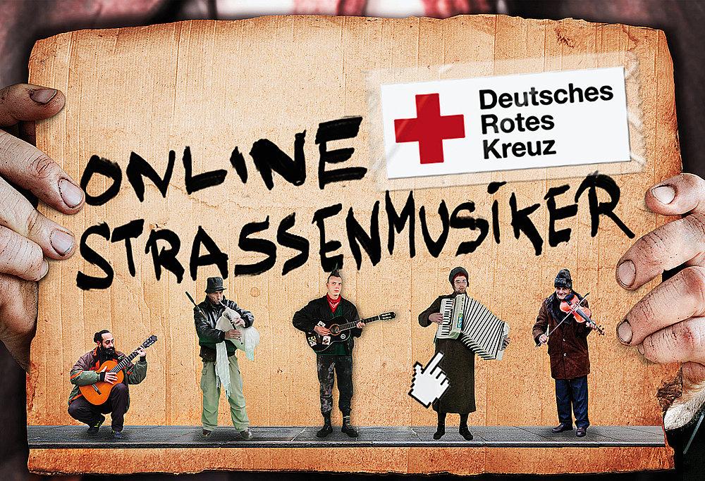 Online  Straßenmusiker | Red Dot Design Award