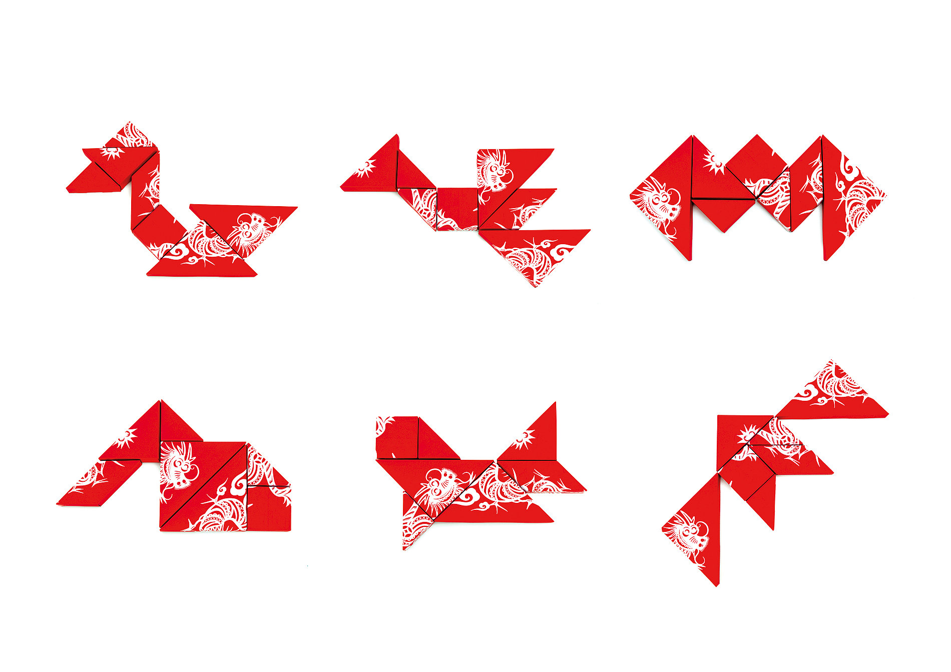 Dragon Tangram | Red Dot Design Award