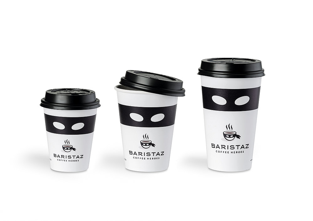 Baristaz Coffee  Heroes To Go Cup | Red Dot Design Award