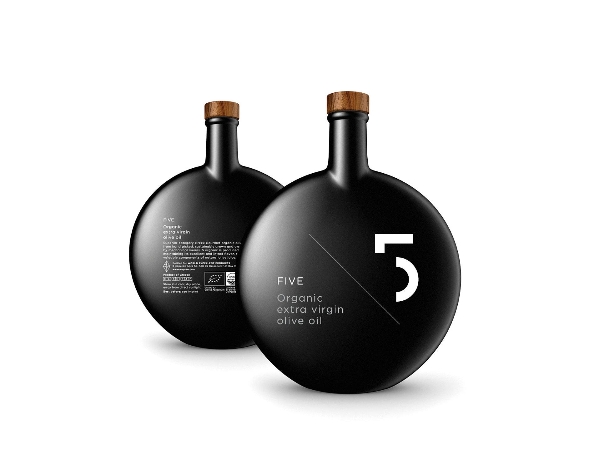 FIVE Olive Oil | Red Dot Design Award
