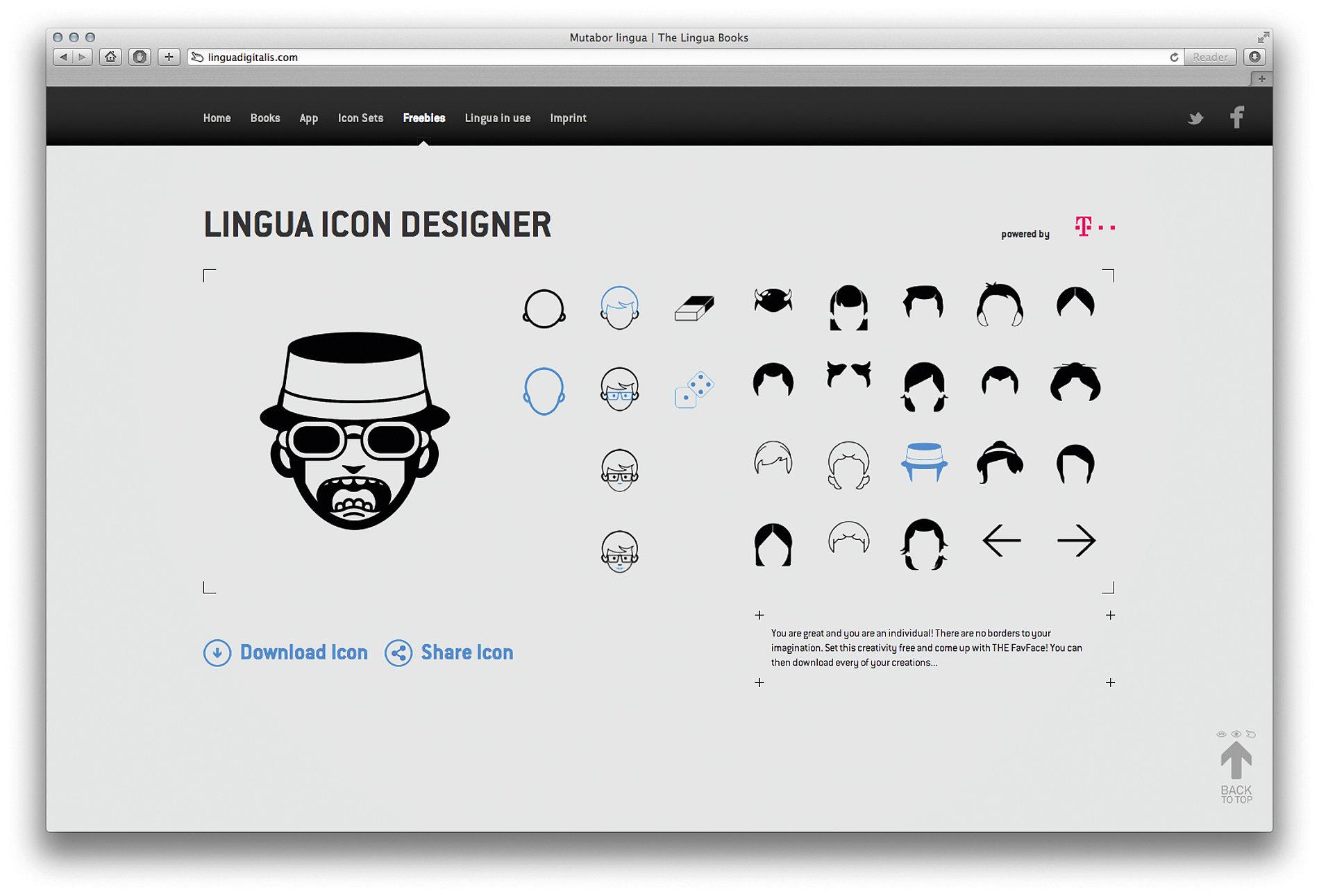 Lingua Digitalis | Red Dot Design Award