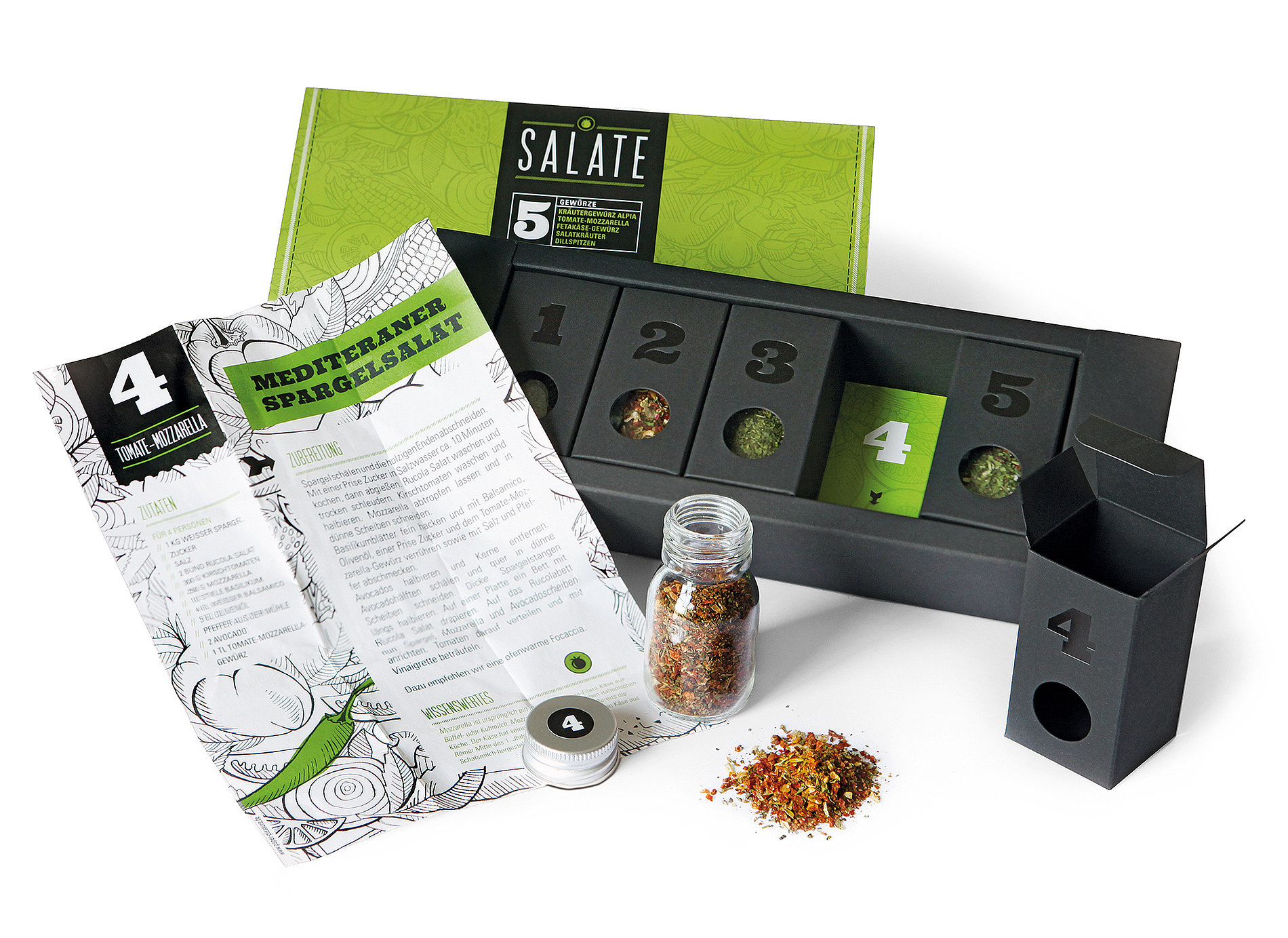 5-Piece Spice Kits | Red Dot Design Award