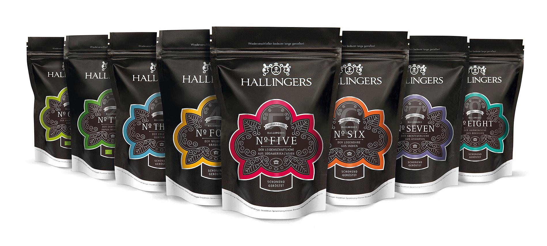 Hallingers Coffee | Red Dot Design Award