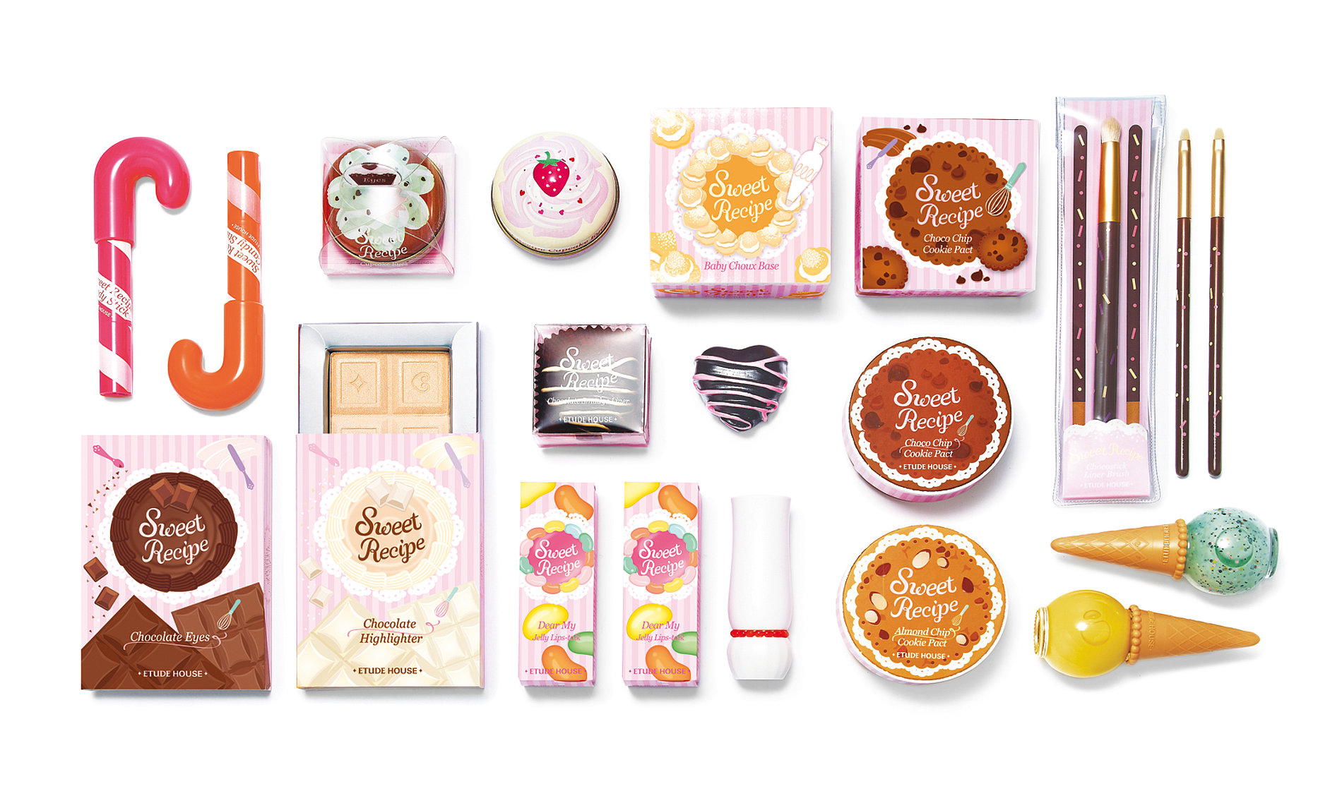 Sweet Recipe Make-up Limited Collection   Red Dot Design Award