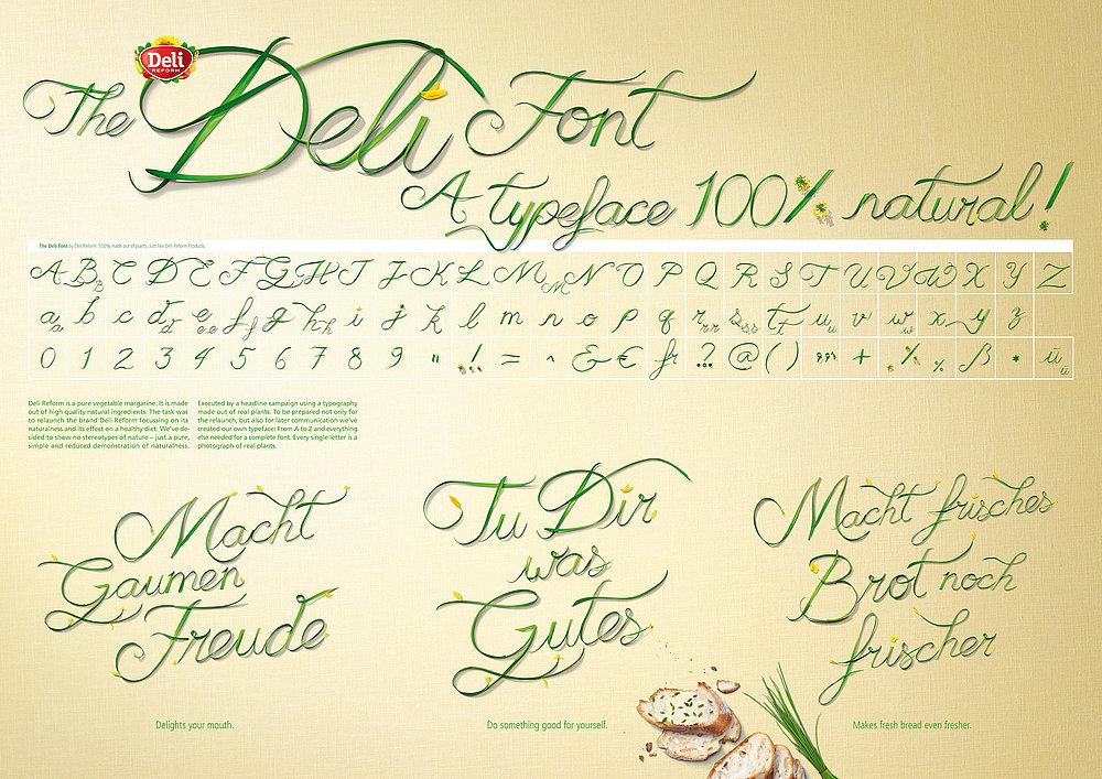 The Deli Font   Red Dot Design Award