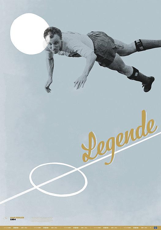 HSV Heldenplakate HSV Football Star Posters | Red Dot Design Award