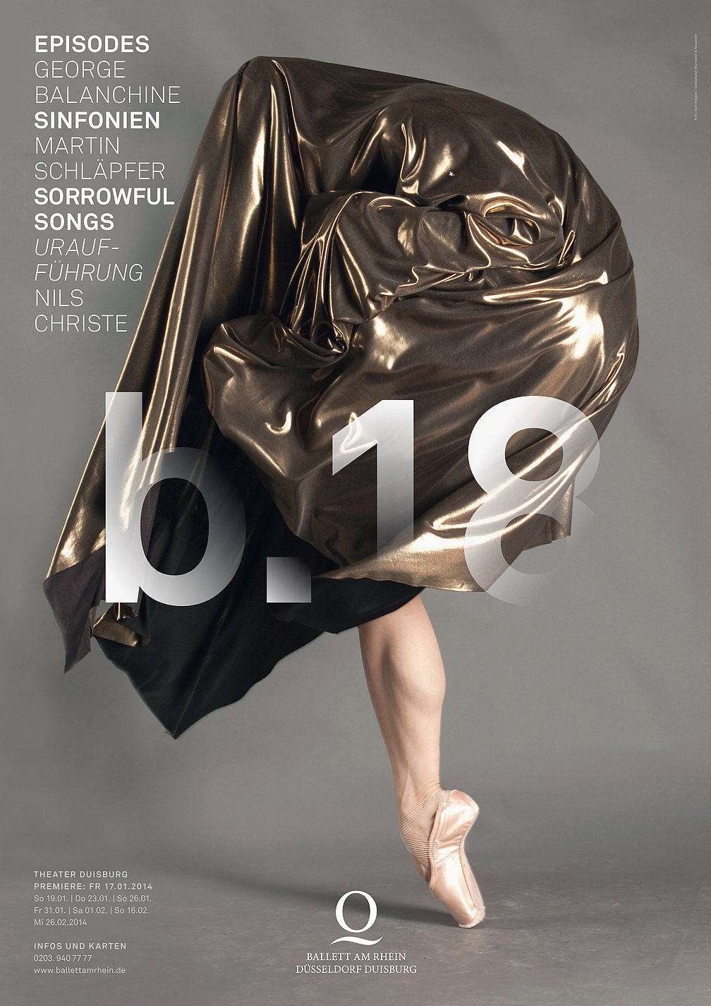 Ballett am Rhein Season 2013/2014 | Red Dot Design Award