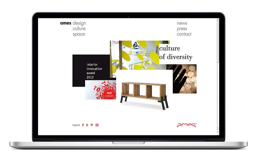 ames culture of diversity | Red Dot Design Award