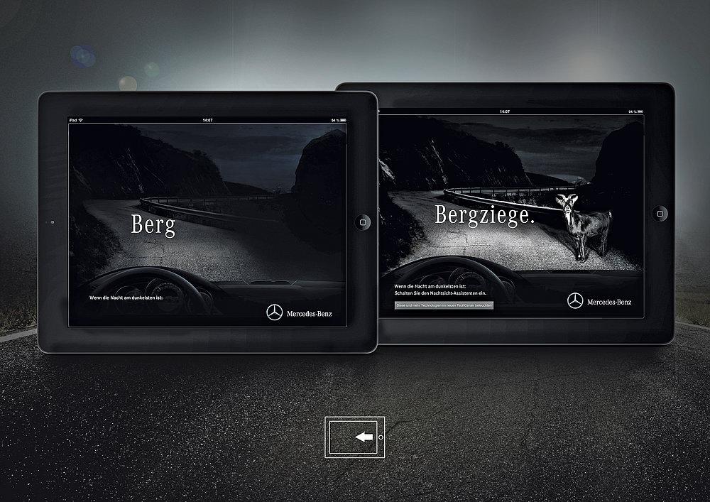 Mercedes-Benz Night View Assist | Red Dot Design Award