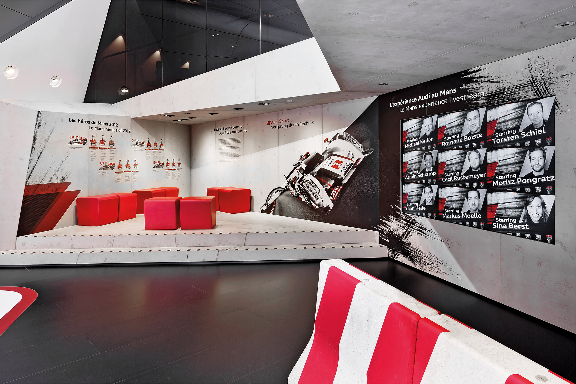 Audi Le Mans Experience – Paris Motor Show 2012 | Red Dot Design Award