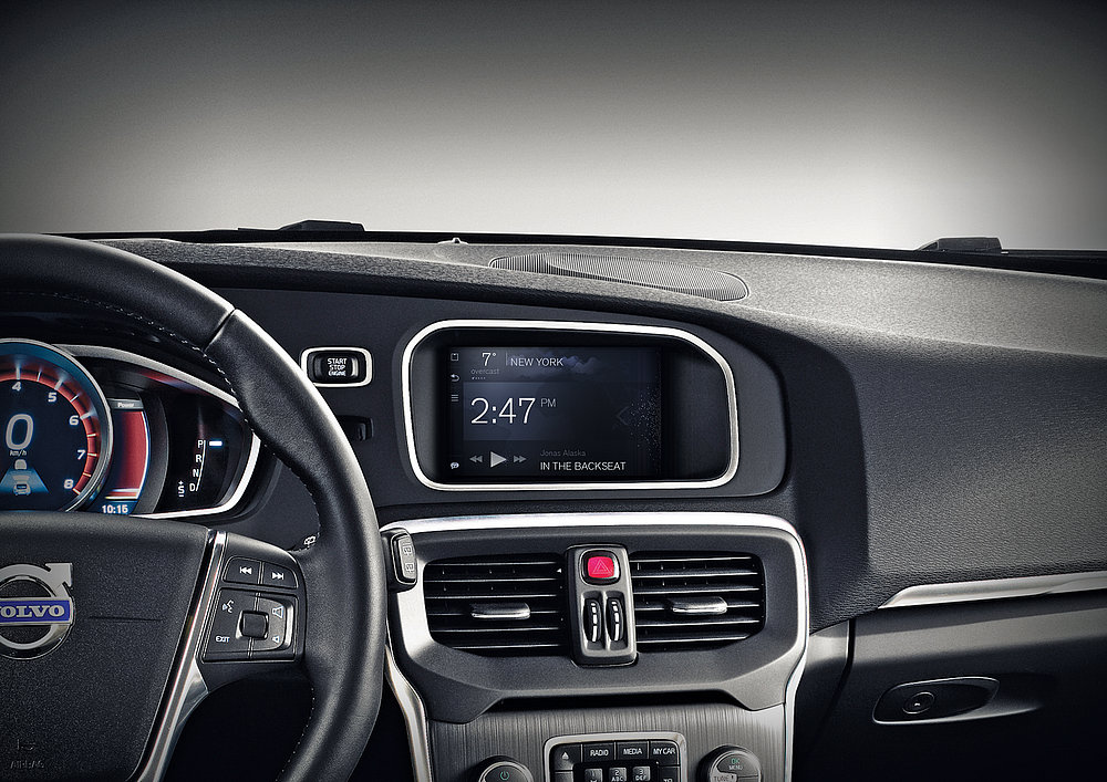 Volvo Sensus Connected Touch | Red Dot Design Award