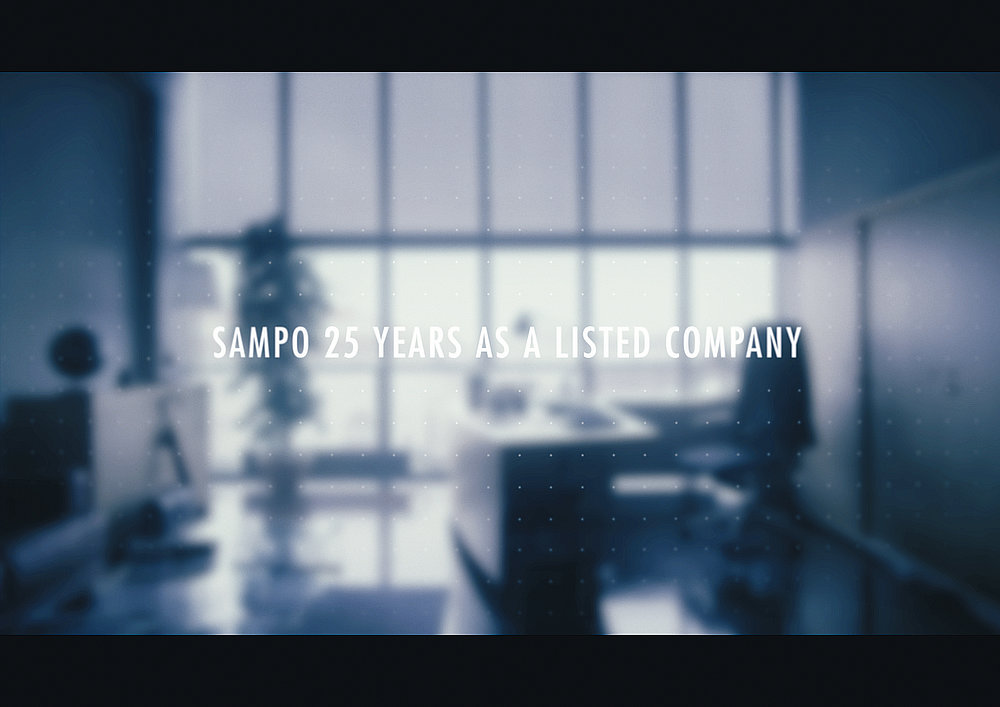 Sampo – 25 years as a listed company | Red Dot Design Award