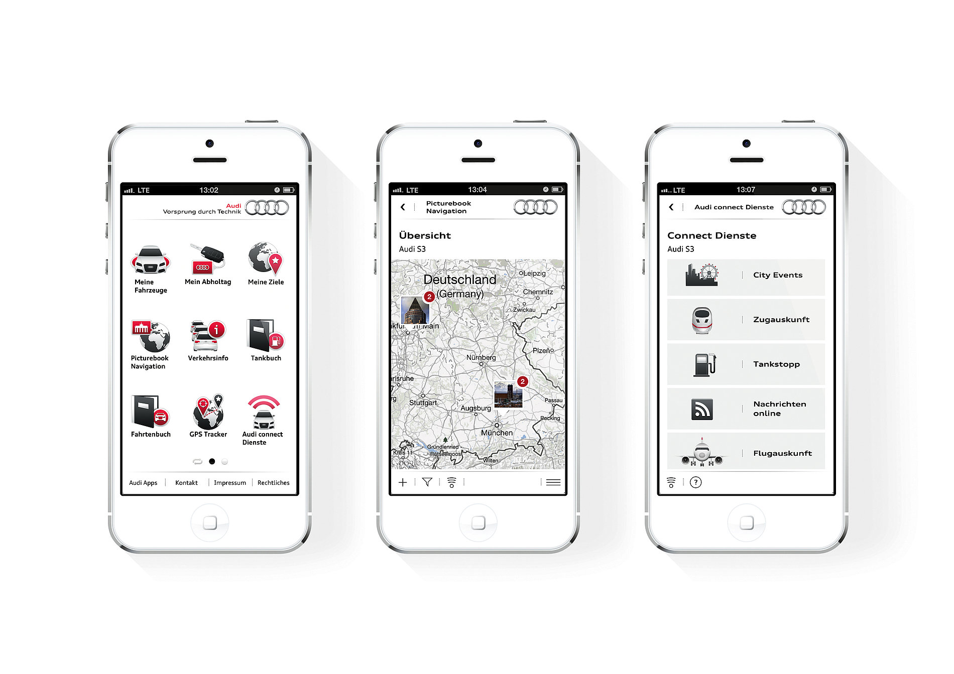 myAudi Mobile Assistant | Red Dot Design Award