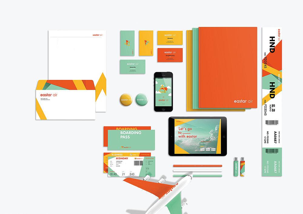 eastar air Rebranding | Red Dot Design Award