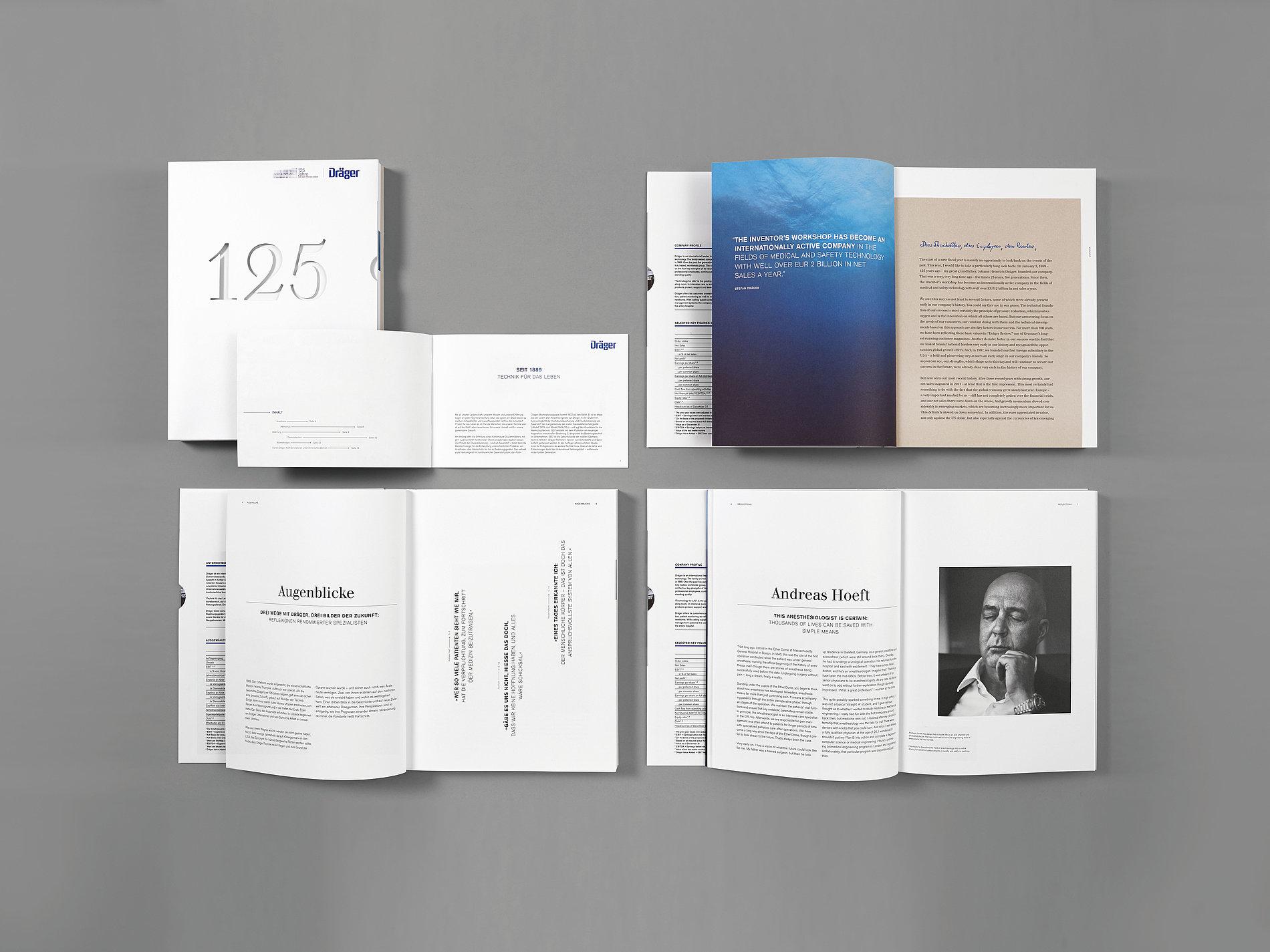 Dräger Annual Report 2013   Red Dot Design Award