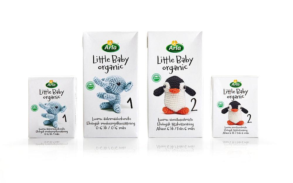 Arla Baby & Me Organic   Red Dot Design Award