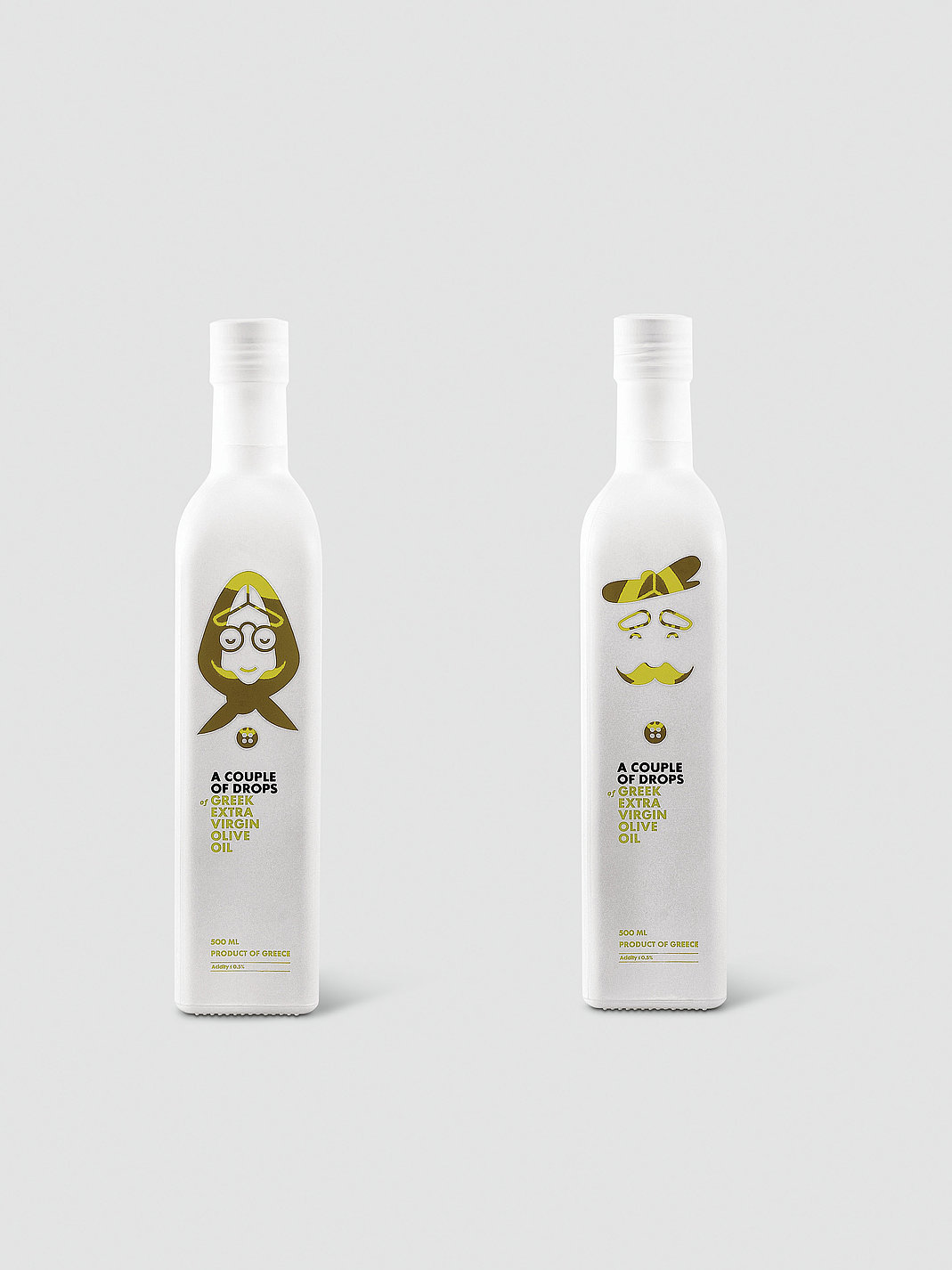 A Couple of Drops | Extra Virgin Olive Oil | Red Dot Design Award