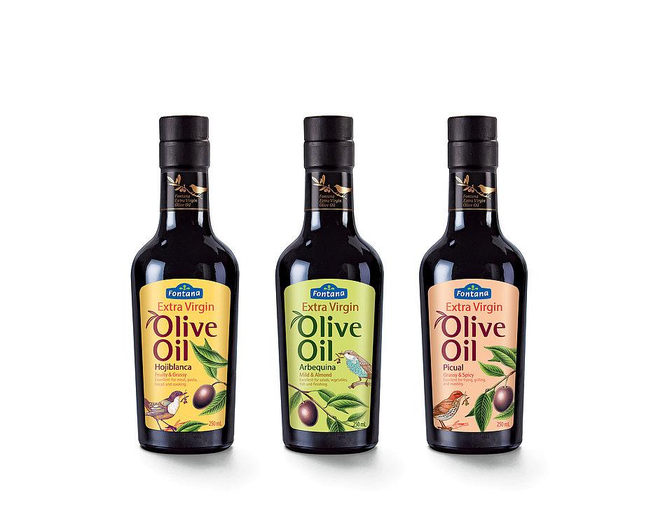 Fontana Extra Virgin Olive Oil   Red Dot Design Award