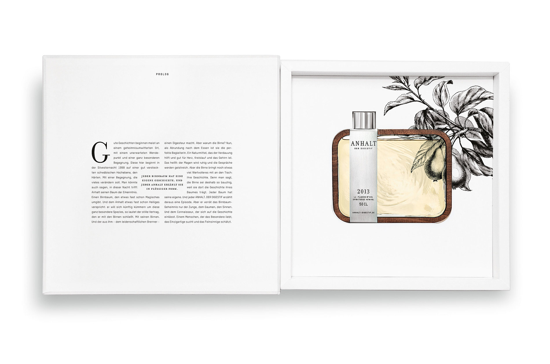 Anhalt. The Digestif. | Red Dot Design Award