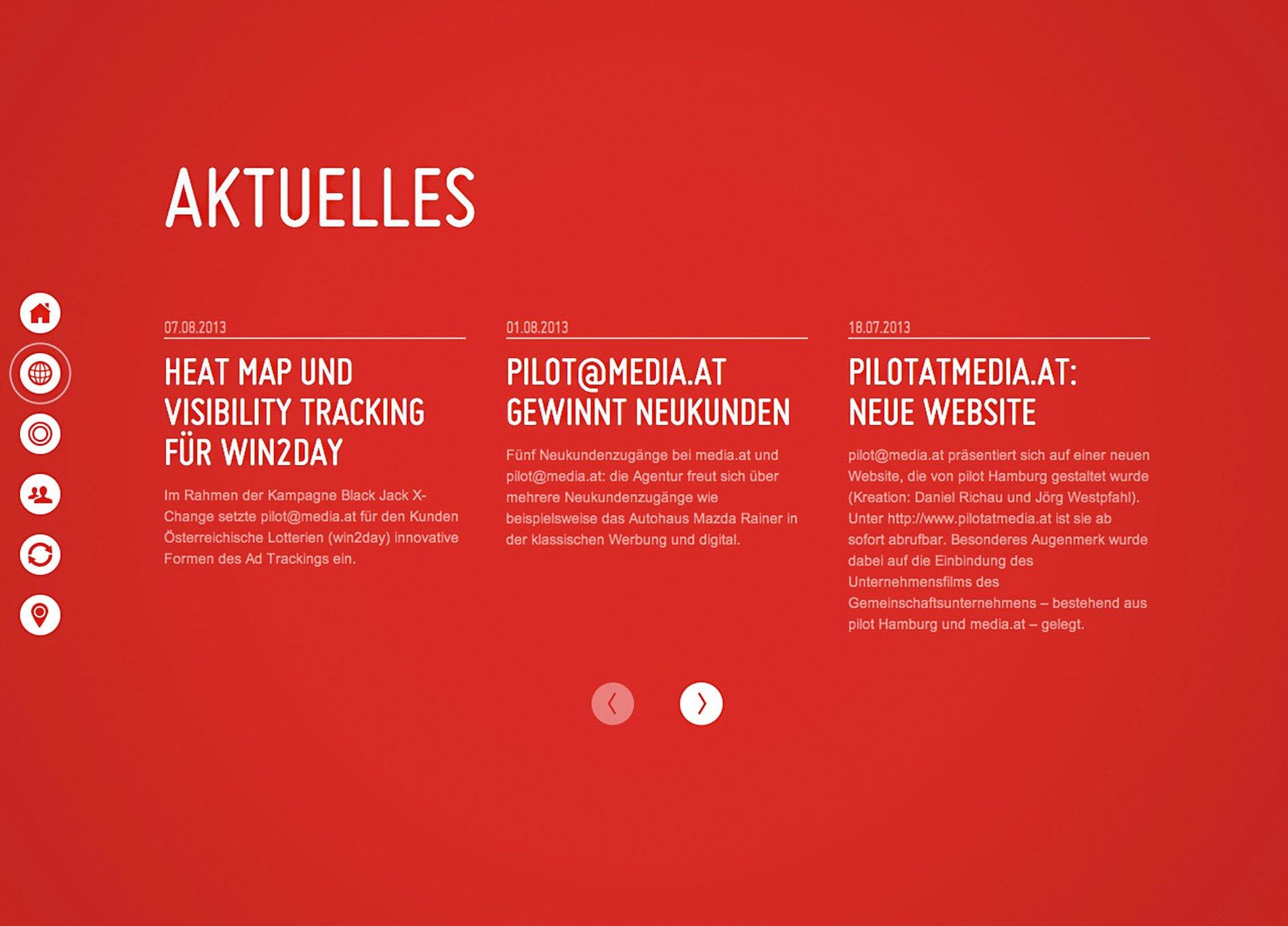 pilotatmedia.at | Red Dot Design Award