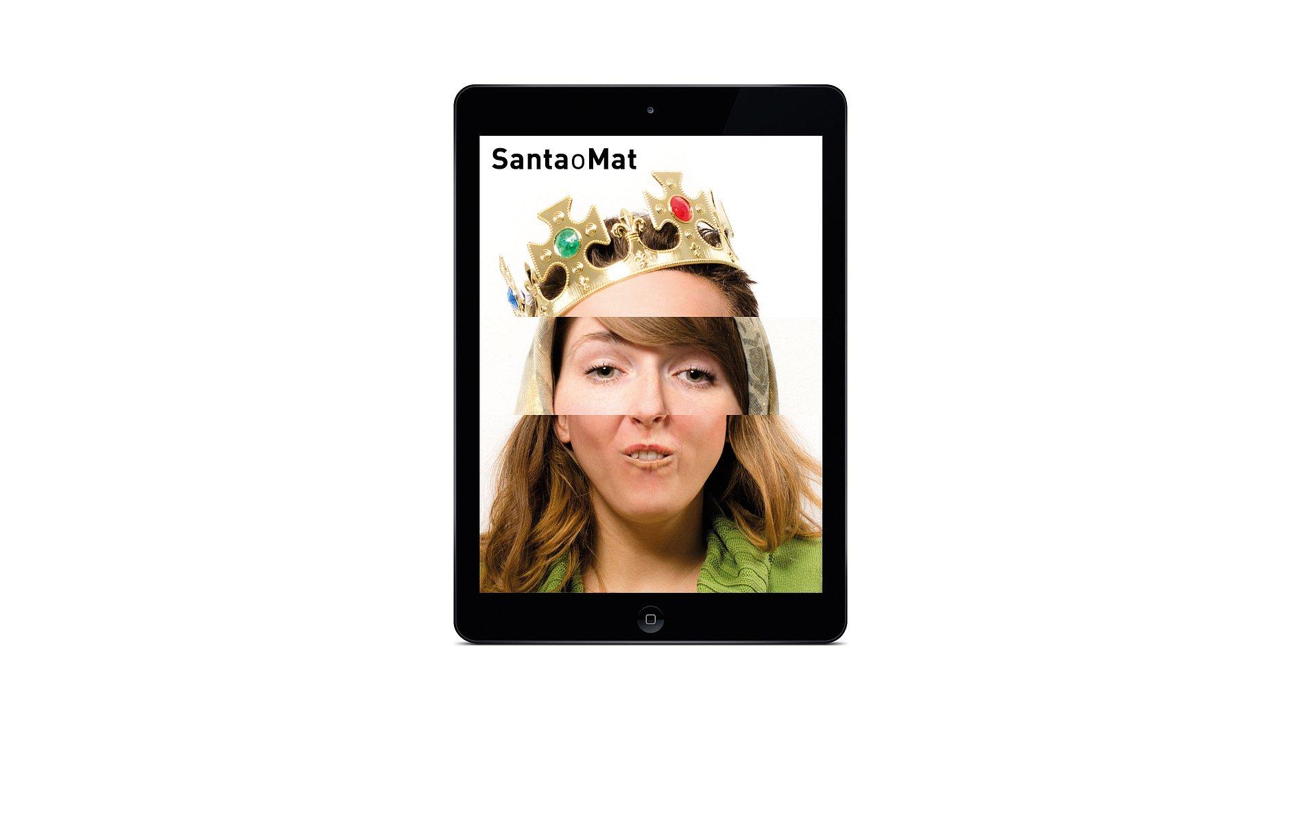 Santa-o-Mat Shake Your X-Mas Card | Red Dot Design Award