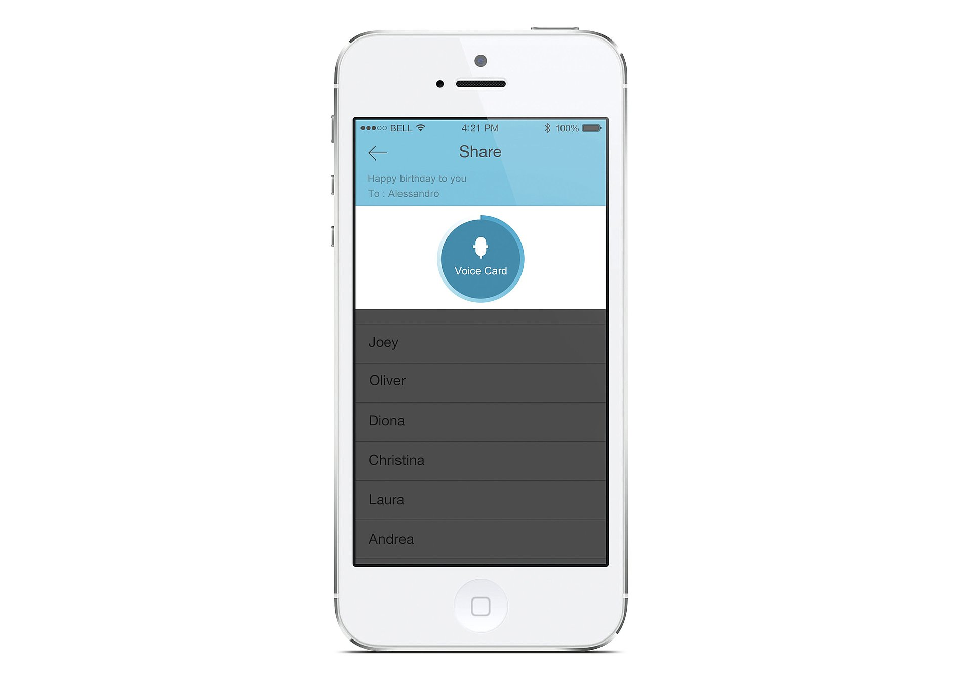 HearMe Touch Based Auditory App For Visually Impaired People