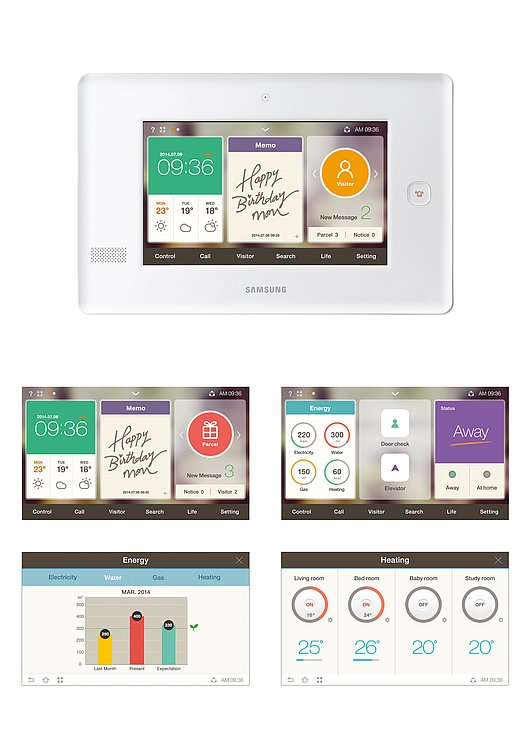 Smart Home UX | Red Dot Design Award