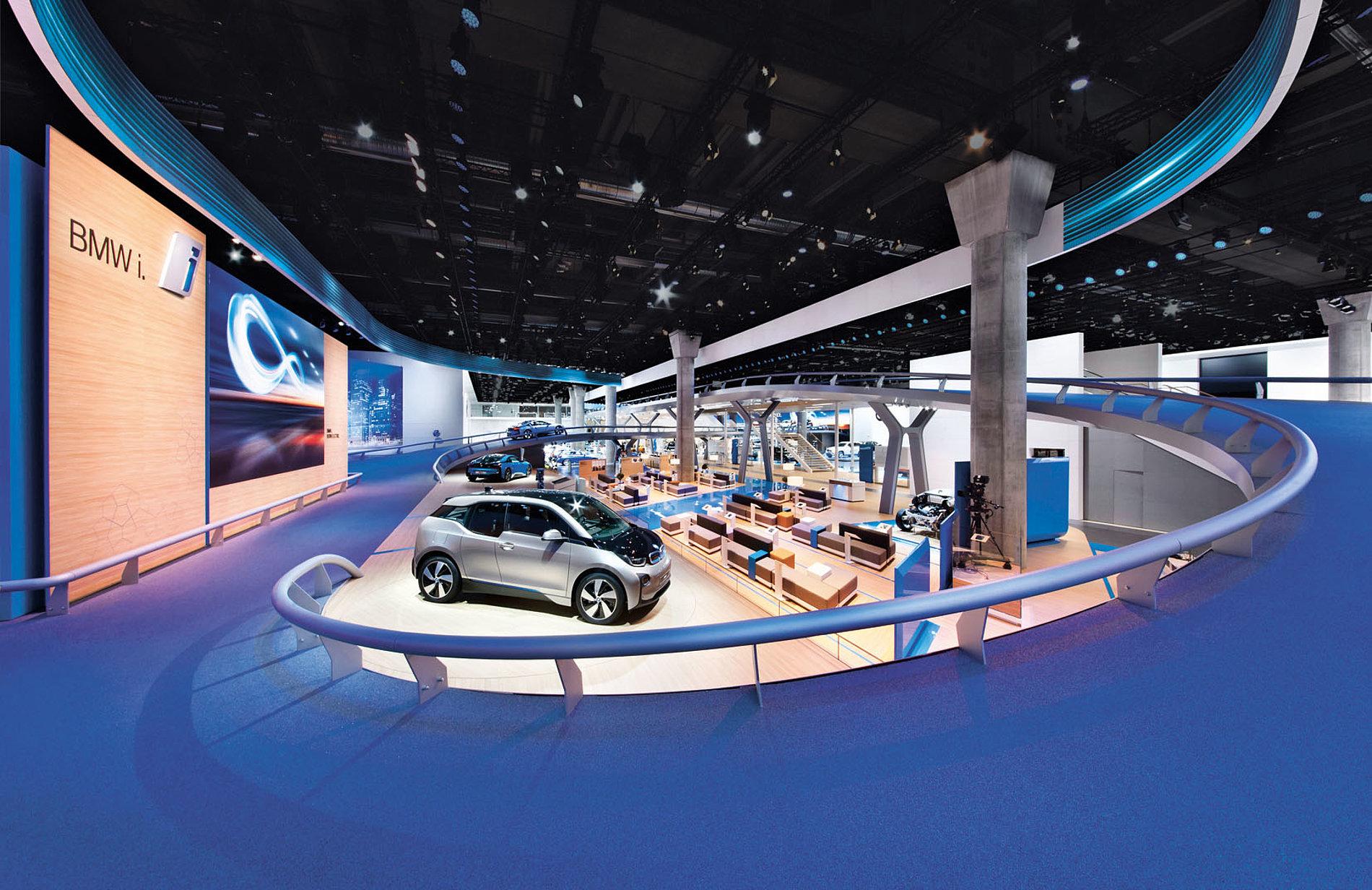 BMW Fair Stand IAA 2013 | Red Dot Design Award