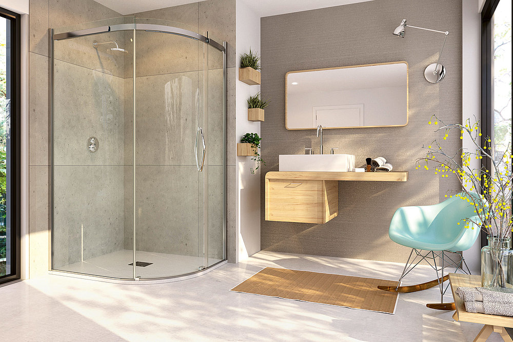 ORO Shower Enclosure | Red Dot Design Award