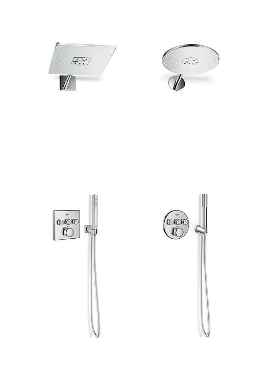 SmartControl Concealed Shower System | Red Dot Design Award