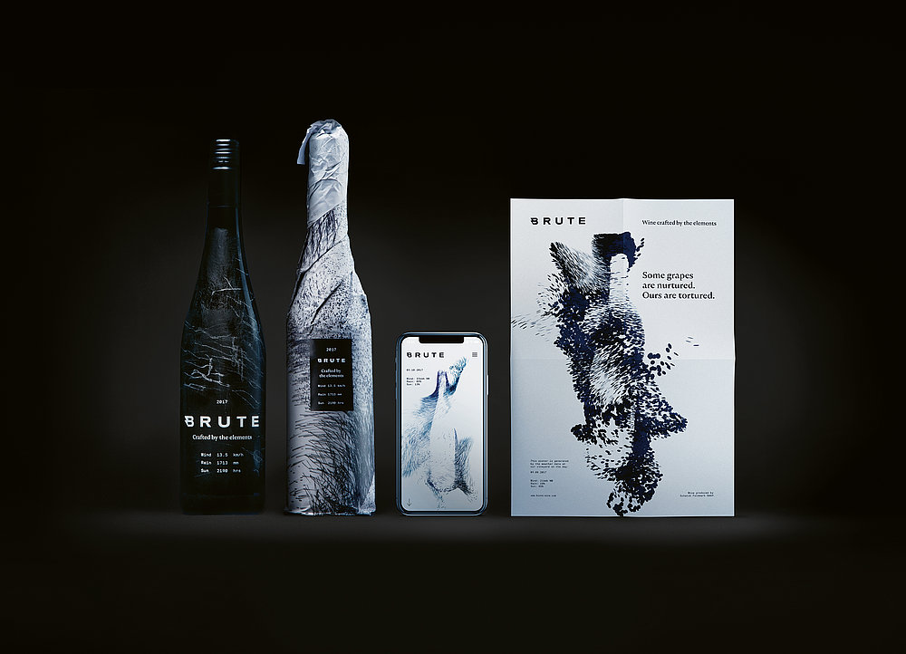 BRUTE – Wine Crafted by the Elements | Red Dot Design Award