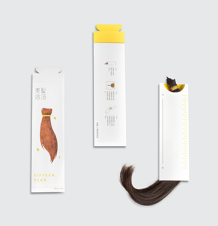 Project 15 – Donate Hair for Cancer | Red Dot Design Award