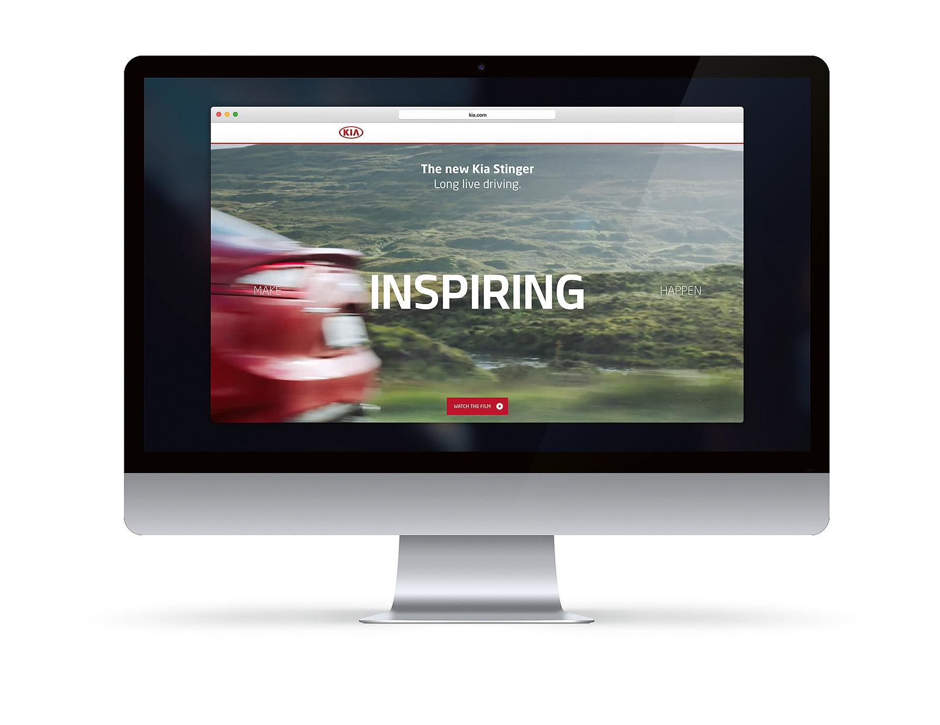 The Kia Stinger. Long live driving. | Red Dot Design Award