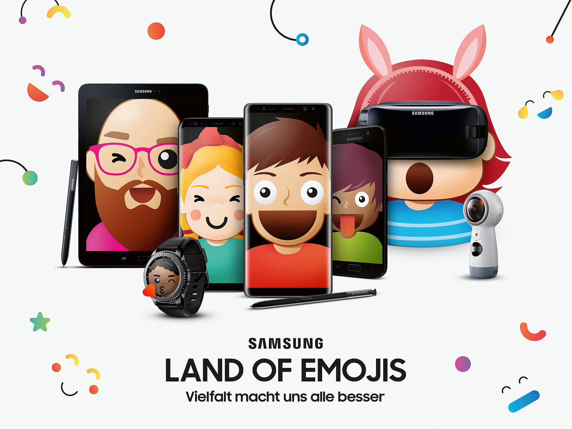 Samsung – Land of Emojis | Red Dot Design Award