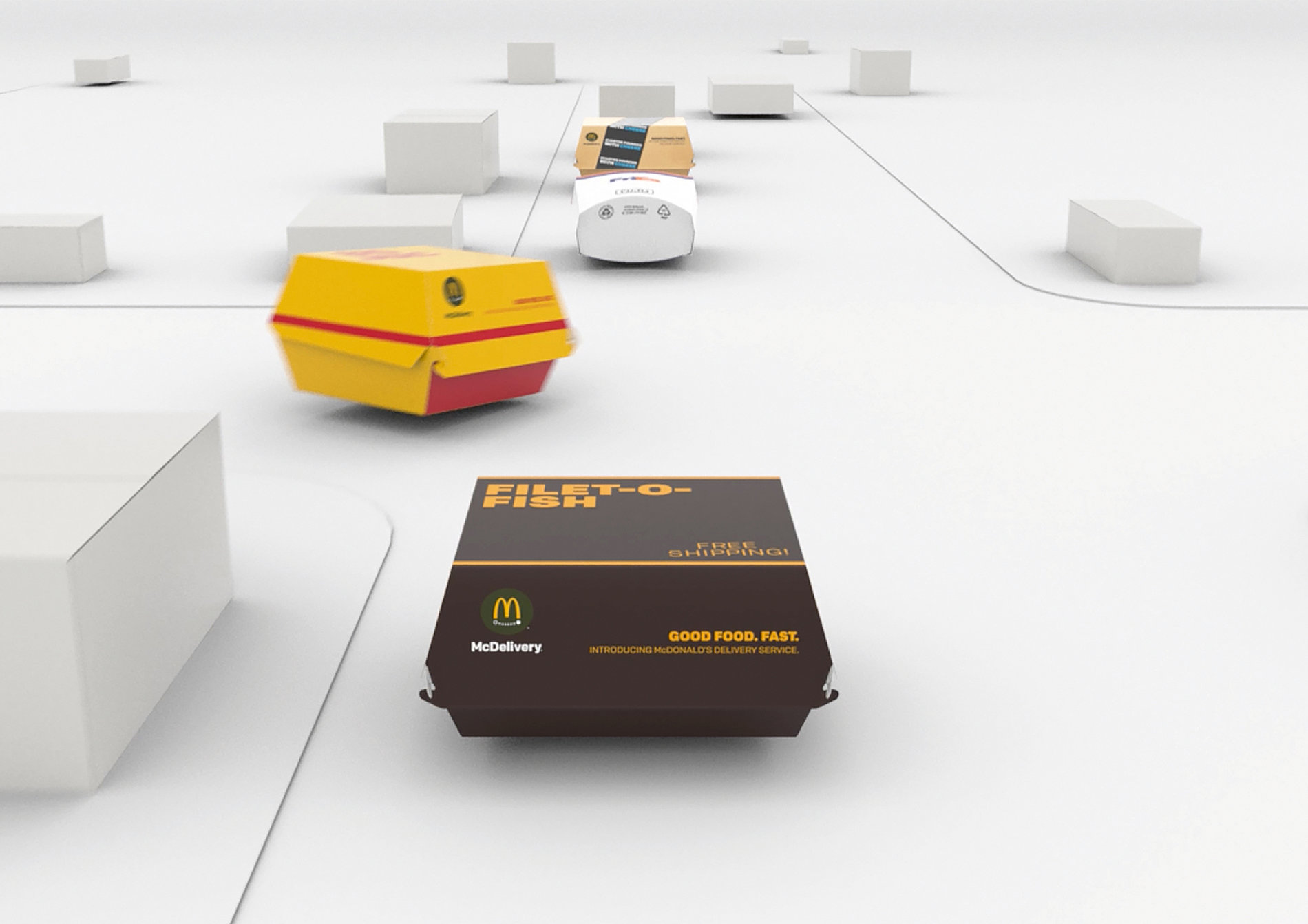 The McDelivery Packaging | Red Dot Design Award