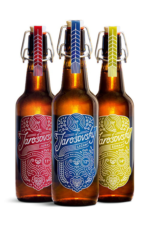 Jarošov Brewery. Folklore in a Bottle. | Red Dot Design Award
