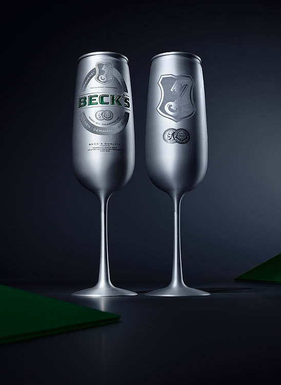 Le BECK'S – The Legendary Beer Can | Red Dot Design Award
