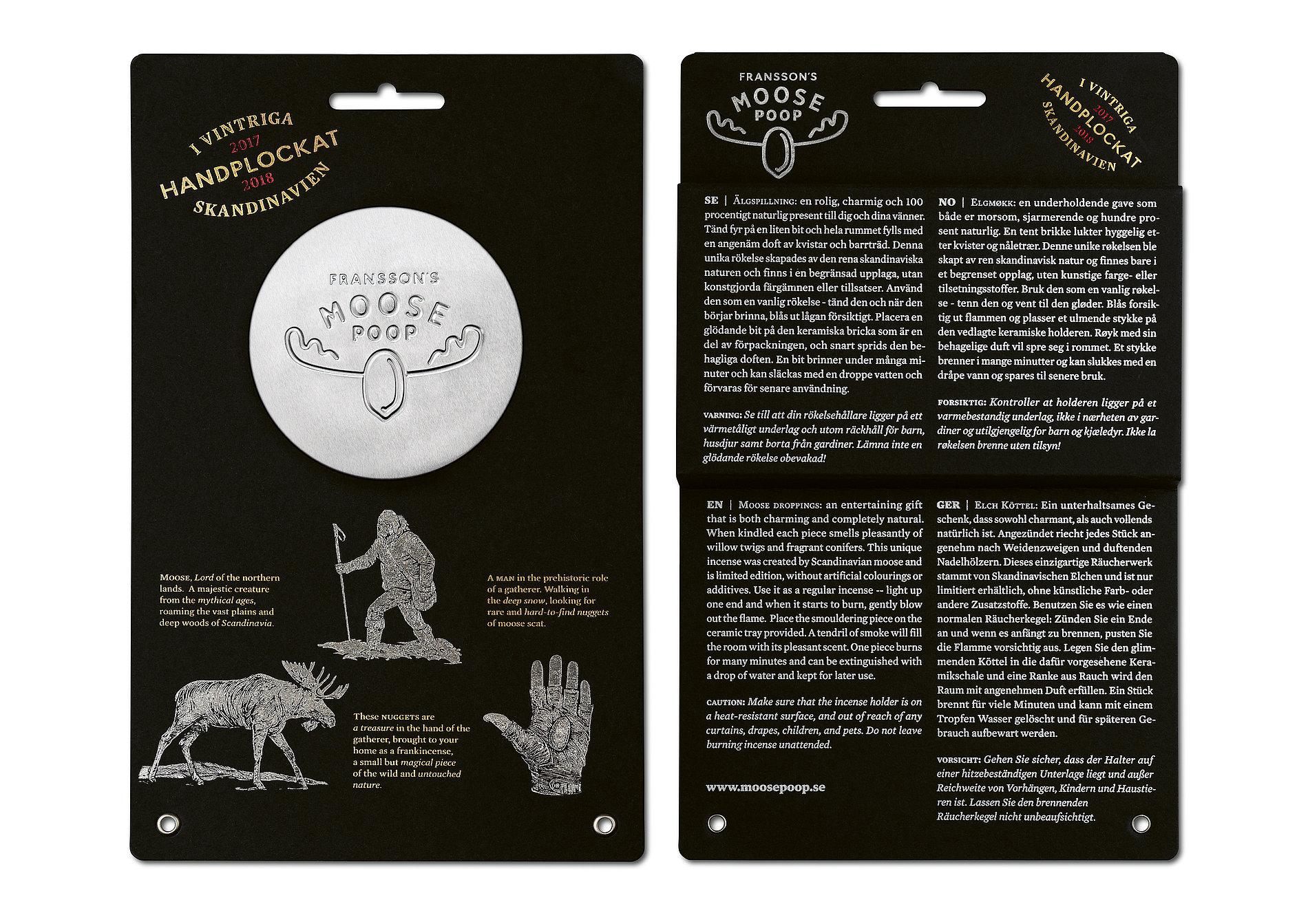 Moose Poop | Red Dot Design Award
