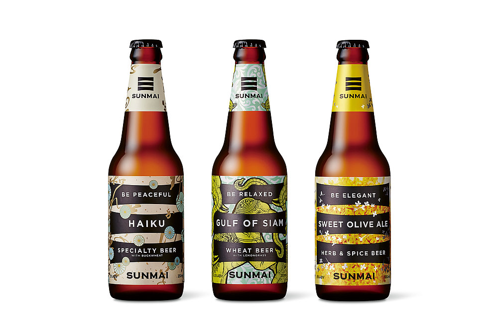 SUNMAI Craft Beer | Red Dot Design Award