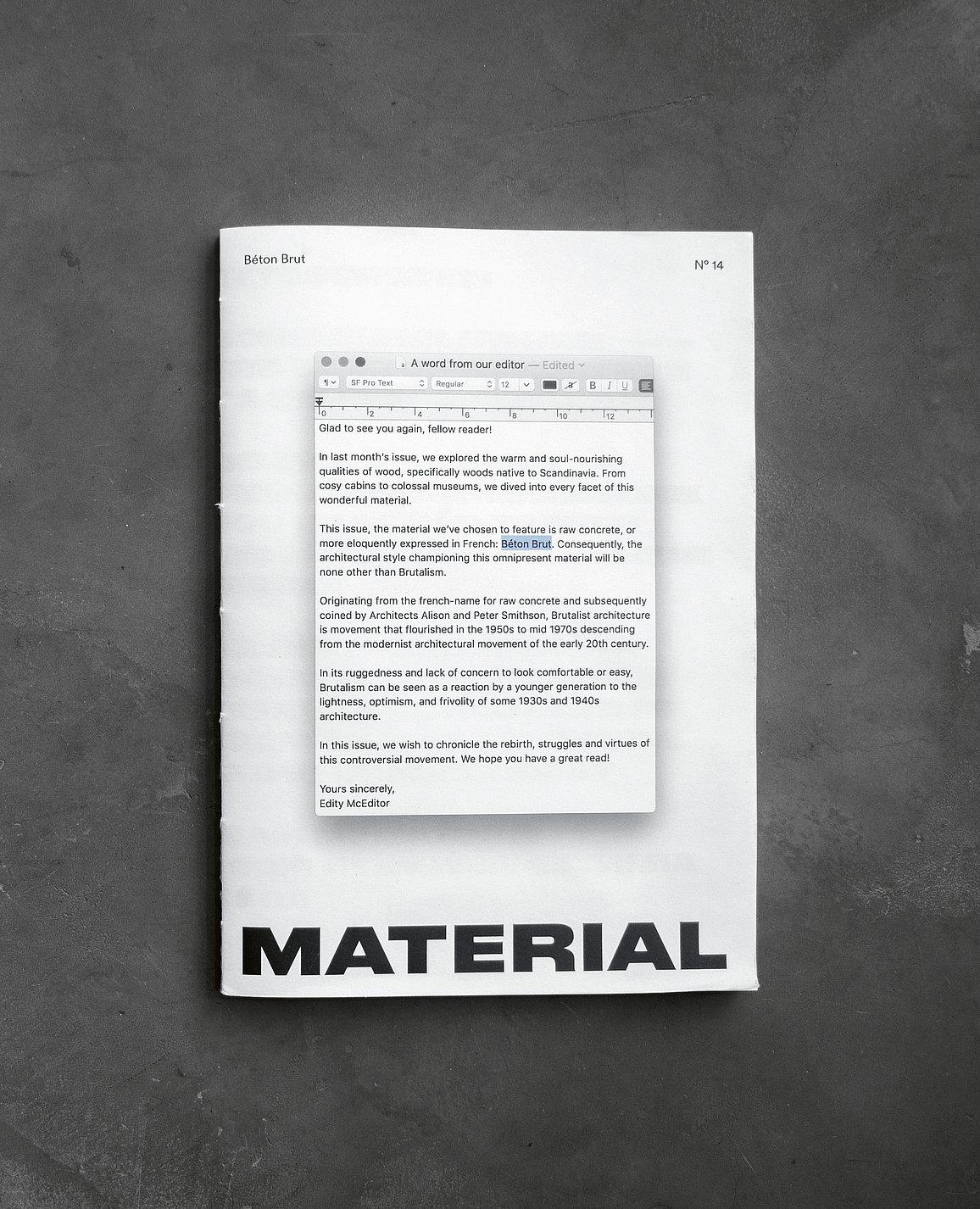 MATERIAL | Red Dot Design Award